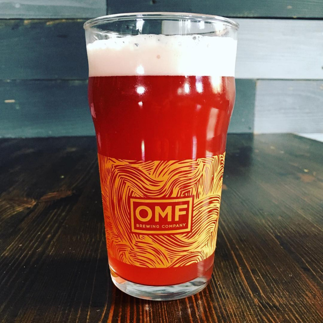 Our Mutual Friend Beer Glass